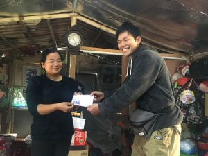 Volunteers in Fisher Village