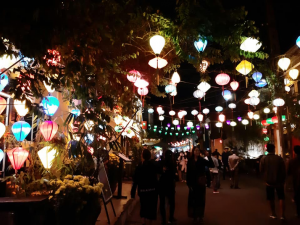 Lanterns in the street, Hoi An, Vietnam