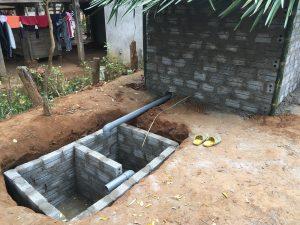 Toilet in Buoc Village, Vietnam