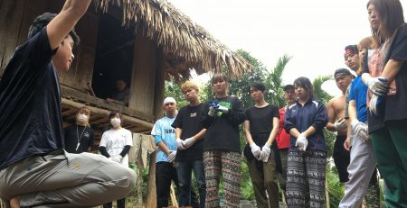 Volontaires au Vietnam, Buoc Village avec sjvietnam