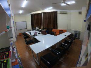 Class in Vinh, Vietnam