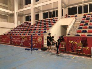 Badminton à l'université de Vinh, Vietnam
